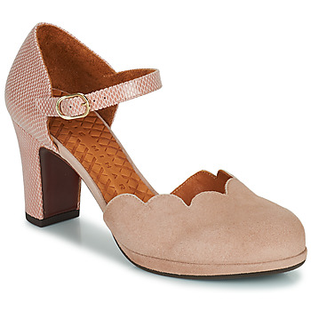 Shoes Women Court shoes Chie Mihara SELA Pink / Beige