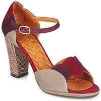 Shoes Women Sandals Chie Mihara ADAIR Bordeaux / Beige