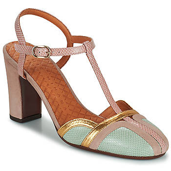 Shoes Women Court shoes Chie Mihara INMA Beige / Pink / Gold