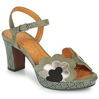Shoes Women Sandals Chie Mihara NALE Green / Grey