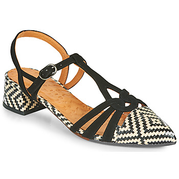Shoes Women Court shoes Chie Mihara ROSALI Black / Beige