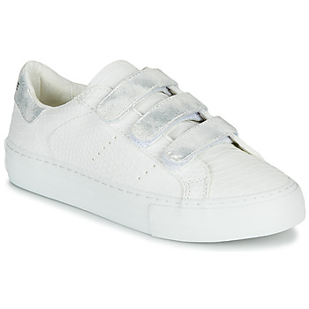 Shoes Women Low top trainers No Name ARCADE STRAPS White / Silver