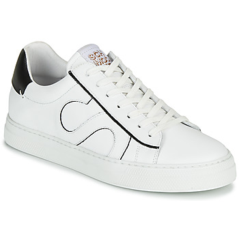 Shoes Men Low top trainers Schmoove SPARK MOVE White / Black
