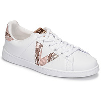 Shoes Women Low top trainers Victoria TENIS VEGANA SER White / Beige