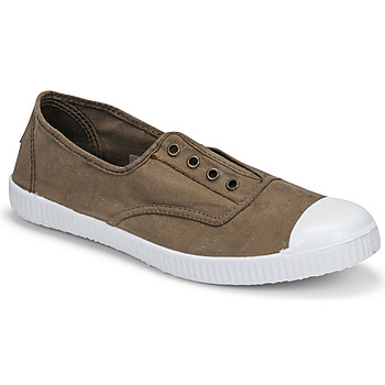 Shoes Women Low top trainers Victoria INGLESA ELASTICO Kaki