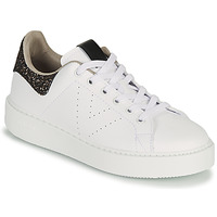 Shoes Women Low top trainers Victoria UTOPIA GLITTER White / Brown