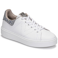 Shoes Women Low top trainers Victoria UTOPIA GLITTER White / Silver