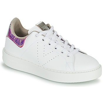 Shoes Women Low top trainers Victoria UTOPIA HOLOG White