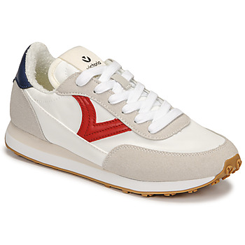 Shoes Women Low top trainers Victoria ASTRO NYLON White / Red / Blue