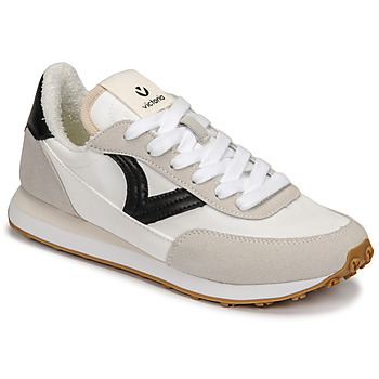 Shoes Women Low top trainers Victoria ASTRO NYLON White / Black