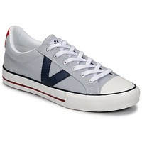 Shoes Men Low top trainers Victoria TRIBU LONA CONTRASTE Grey