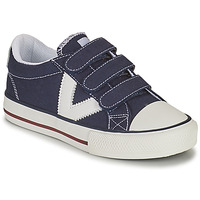 Shoes Boy Low top trainers Victoria TRIBU TIRAS LONA Blue