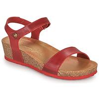 Shoes Women Sandals Panama Jack CAPRI Red