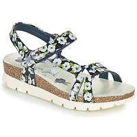 Shoes Women Sandals Panama Jack SALLY GARDEN Blue