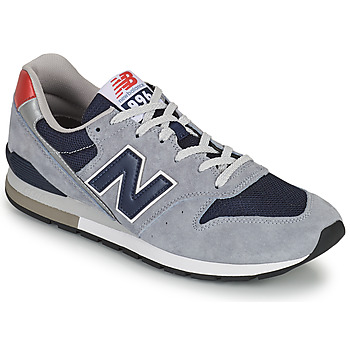 Shoes Men Low top trainers New Balance 996 Grey / Blue / Red