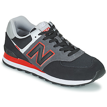 Shoes Men Low top trainers New Balance 574 Grey / Red