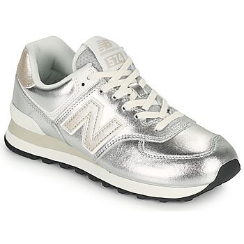 Shoes Women Low top trainers New Balance 574 Silver