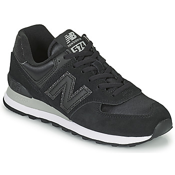 Shoes Women Low top trainers New Balance 574 Black