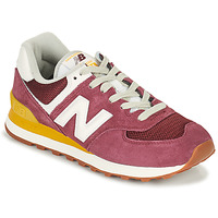 Shoes Women Low top trainers New Balance 574 Bordeaux