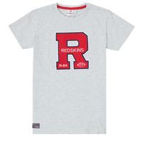 material Boy short-sleeved t-shirts Redskins TSMC180161-BLENDED-GREY Grey