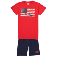 material Boy Tracksuits Redskins SET301-RED-NAVY Multicolour