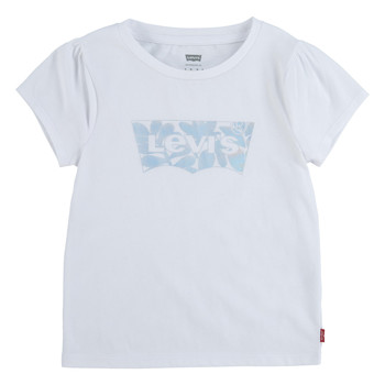 material Girl short-sleeved t-shirts Levi's 4EC717-001 White