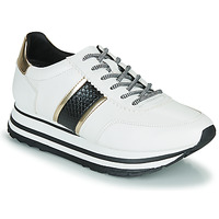 Shoes Women Low top trainers Tamaris MARLA White / Black