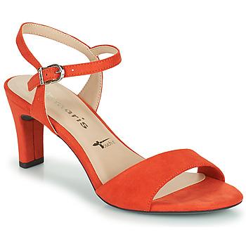 Shoes Women Sandals Tamaris MELIAH Red
