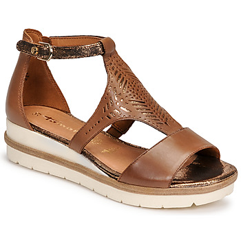 Shoes Women Sandals Tamaris EDA Brown