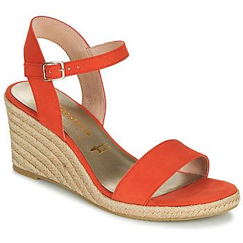 Shoes Women Sandals Tamaris LIVIAN Red