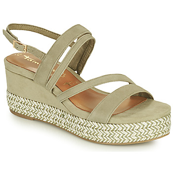 Shoes Women Sandals Tamaris KANNIE Pistachio