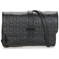 Bags Women Shoulder bags Ikks SMALL WAITRESS Black