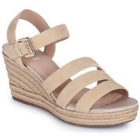 Shoes Women Sandals Geox D SOLEIL C Beige