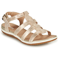 Shoes Women Sandals Geox D SANDAL VEGA A Gold