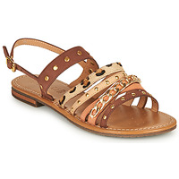 Shoes Women Sandals Geox D SOZY S I Brown / Beige