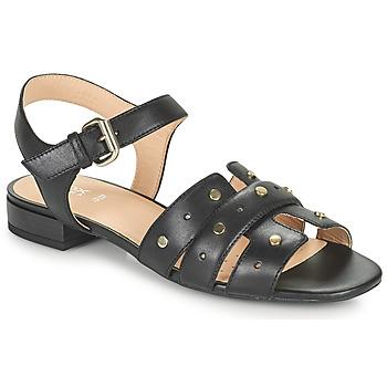 Shoes Women Sandals Geox D WISTREY SANDALO C Black