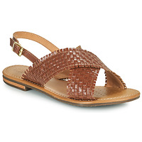 Shoes Women Sandals Geox D SOZY S A Brown