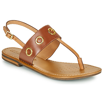 Shoes Women Sandals Geox D SOZY S E Brown