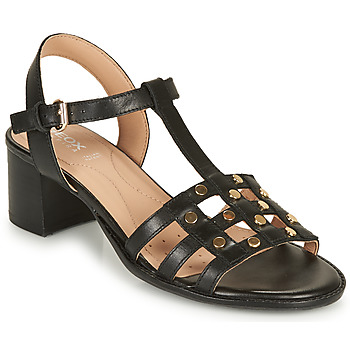 Shoes Women Sandals Geox D SOZY MID B Black