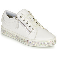 Shoes Women Low top trainers Geox D LEELU' D White