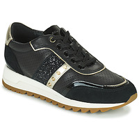 Shoes Women Low top trainers Geox D TABELYA B Black