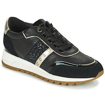 Shoes Women Low top trainers Geox D TABELYA B Black