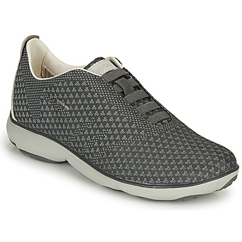 Shoes Men Low top trainers Geox U NEBULA E Grey