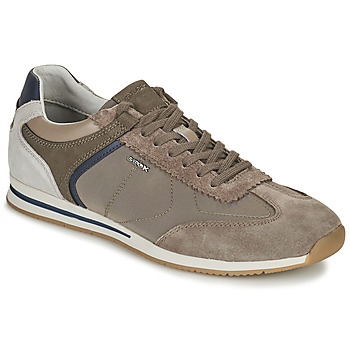 Shoes Men Low top trainers Geox U EDIZIONE A Grey