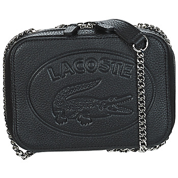 Bags Women Shoulder bags Lacoste CROCO CREW Black
