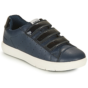 Shoes Girl Low top trainers Geox SILENEX GIRL Marine