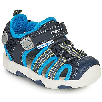 Shoes Boy Sports sandals Geox SANDAL MULTY BOY Blue