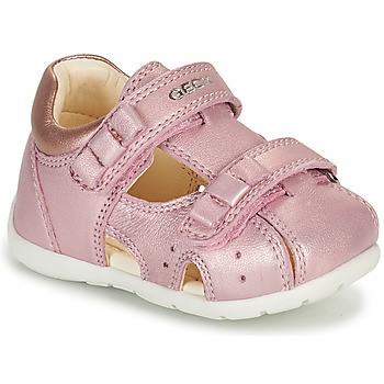 Shoes Girl Sandals Geox KAYTAN Pink