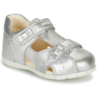 Shoes Girl Sandals Geox KAYTAN Silver
