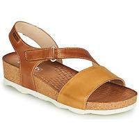 Shoes Women Sandals Pikolinos MAHON W9E Brown